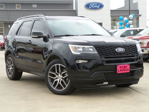 New 2018 Ford Explorer Sport AWD