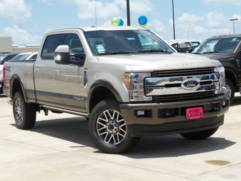 New 2018 Ford F-250SD King Ranch With Navigation & 4WD