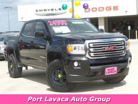 Pre-Owned 2015 GMC Canyon 2WD SLE RWD Crew Cab Pickup