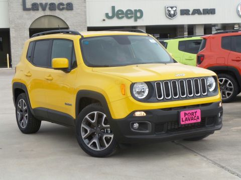 New 2017 Jeep Renegade Latitude FWD 4D Sport Utility